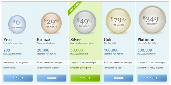 Pricing Table Inspiration 3