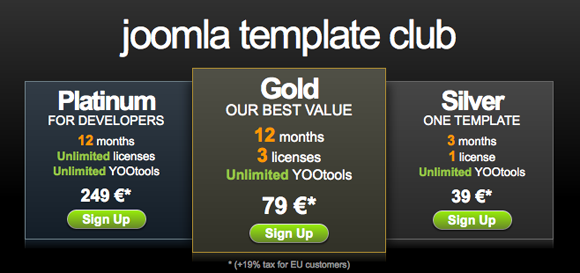 Pricing Table Inspiration 4