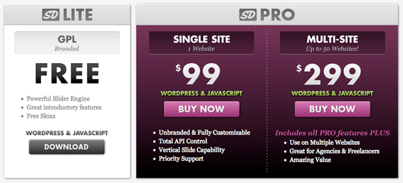 Pricing Table Inspiration 8