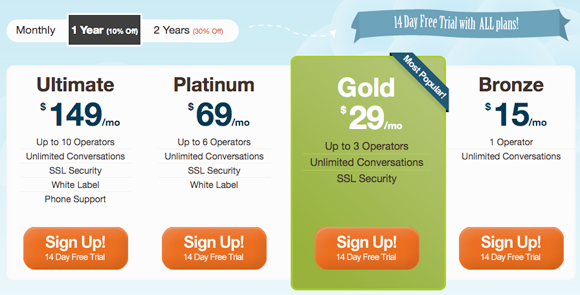 Pricing Table Inspiration 9